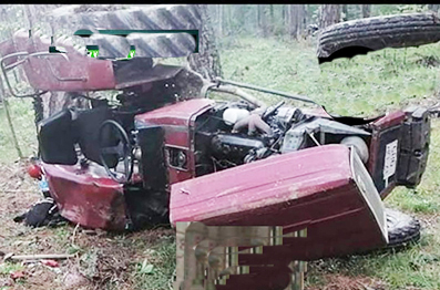 <center> Daday: Devrilen Traktörün Altında Kalan Sürücü  </center><center><font color='blue'> ÖLDÜ </font></center>