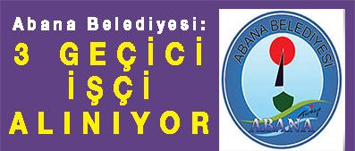 <center> Abana Belediyesi: </center><center><font color='blue'>3 GEÇİCİ İŞÇİ ALINIYOR </font></center>