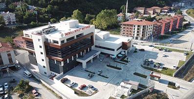 <center> İnebolu Devlet Hastanesi </center><center><font color='blue'> PANDEMİ HASTANESİ OLDU </font></center>