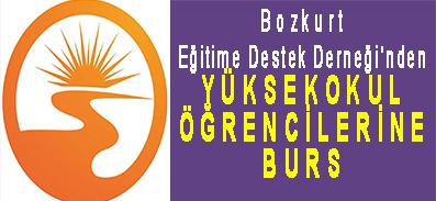 <center> Bozkurt Eğitime Destek Derneği'nden </center><center><font color='blue'> YÜKSEKOKUL ÖĞRENCİLERİNE BURS </font></center>