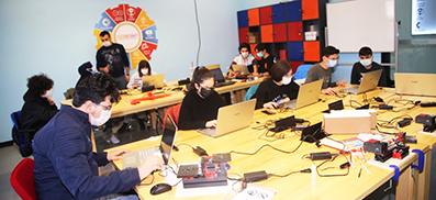 <center> Kastamonu Gençlik Merkezi: </center><center><font color='blue'> DENEYAP TEKNOLOJİ ATÖLYESİ KURULDU  </font></center>