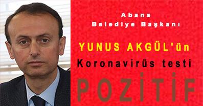 <center> Abana Belediye Başkanı </center><center><font color='blue'> YUNUS AKGÜL'ün Koronavirüs Testi POZİTİF </font></center>