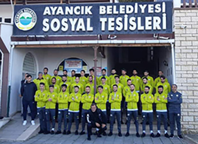<center> Sinopspor Takımı'ndan </center><center><font color='blue'>28 SPORCU KARANTİNADA </font></center>