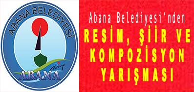 <center> Abana Belediyesi'nden </center><center><font color='blue'> RESİM, ŞİİR VE KOMPOZİSYON YARIŞMASI </font></center>