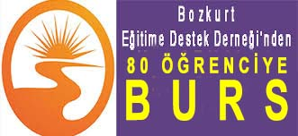 <center> Bozkurt Eğitime Destek Derneği'nden  </center><center><font color='blue'>80 ÖĞRENCİYE BURS </font></center>