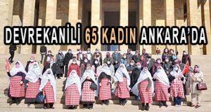 DEVREKANİLİ 65 KADIN ANKARA'DA