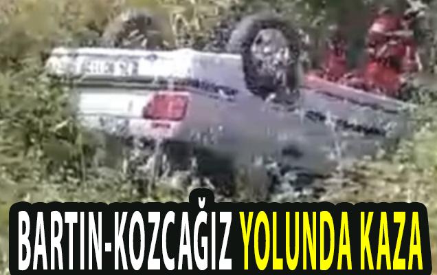BARTIN-KOZCAĞIZ YOLUNDA KAZA