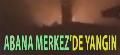 ABANA MERKEZ'DE YANGIN