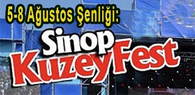 <center>5-8 Ağustos Şenliği: </center><center><font color='blue'> SİNOP KUZEY FEST </font></center>